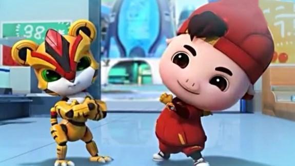 猪猪侠猪猪侠超星萌宠3猪猪侠英雄猪少年爱心帮助阳光穿透一切