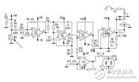 电子听诊器放大电路剖析