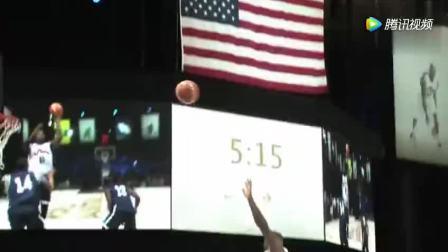 2012年7月份时美国男篮备战奥运的一场队内公开训练师!