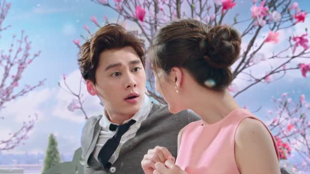 李易峰 angelababy德芙巧克力最新高清广告图片