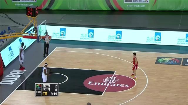 2010男篮世锦赛中国男篮VS希腊下半场