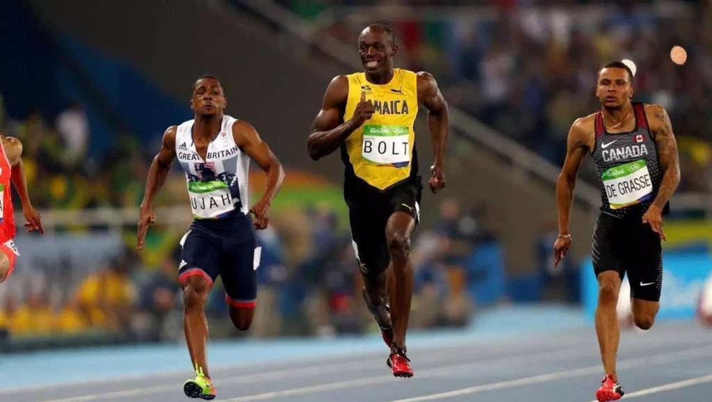博尔特最后10米太恐怖了,稍微加速就打破世界纪录