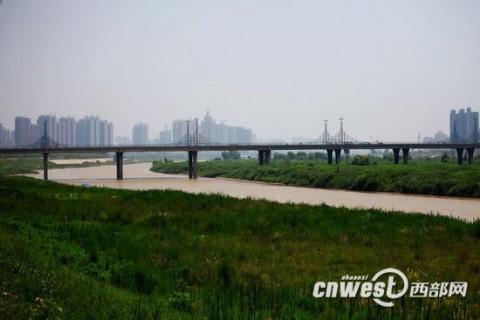 渭河宝鸡岐山段,岐渭水利风景区. 来源:西部网—陕西新闻网
