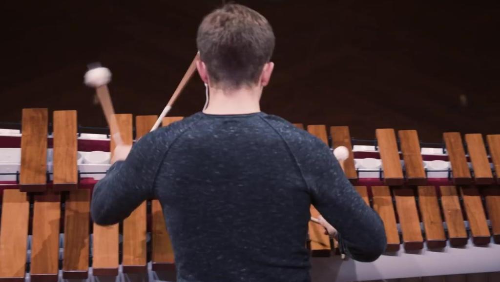 古代乐器演奏