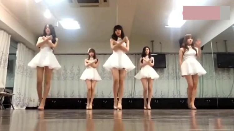 现代舞分解动作,舞蹈教学,适合女生,简单帅气图片
