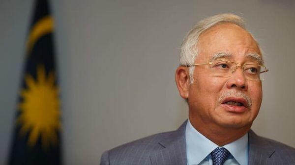 马来西亚前总理纳吉布被逮捕