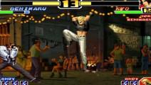 拳皇99 为什么援助都用安迪呢 小时候我们都用克拉克啊
