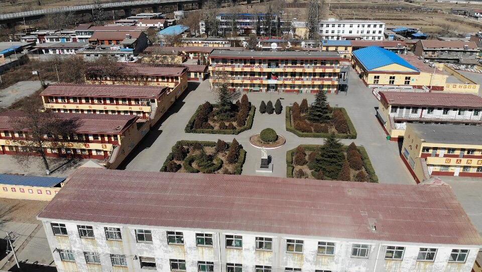 航拍山西襄汾景毛中学,曾经的老同学,你们还好吗?