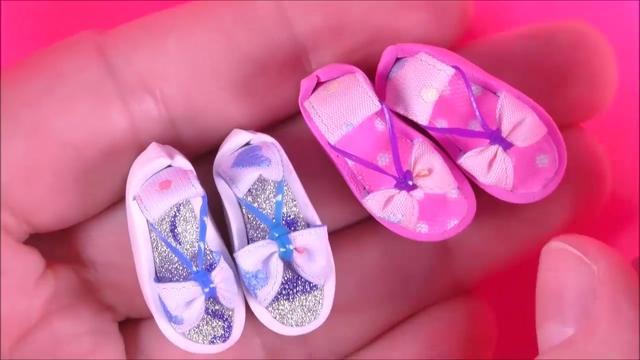 打开 打开 diy手工制作玩具娃娃鞋子 教你给芭比娃娃制作鞋子 打开
