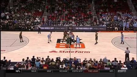 NCAA全场精华: 北卡 vs 密歇根州立