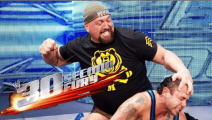 盘点WWETop20大秀哥最强KO重拳时刻 一拳一个太猛 塞纳