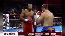 重量级最凶狠的两位重炮手!泰森vs福尔曼,谁的拳更重?