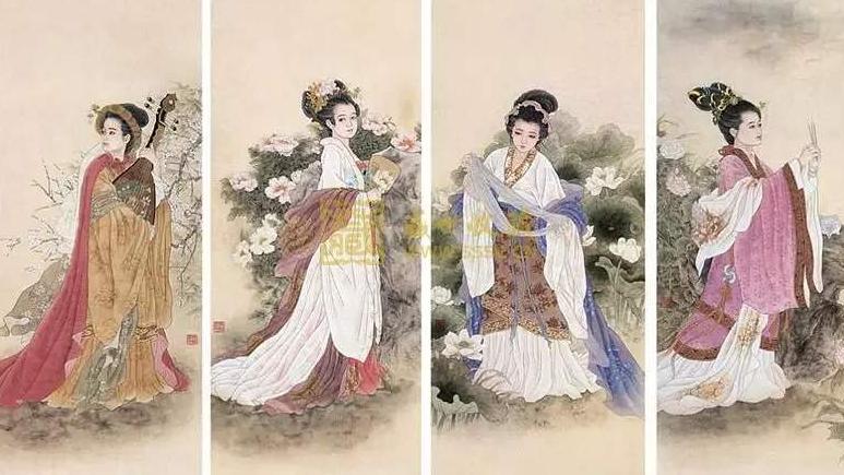 窈窕芳容美人图,对于《四美图》的文化你了解多少?