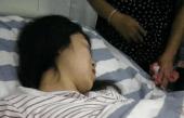 7个月的孕妇肚子疼的满地打滚, 划开肚子医生手足无措