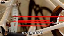 自行车挂上这条绳子,可以省十倍的力气,时速轻松超过30公里