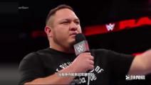 WWE-罗曼萨摩亚黑羊大布,四位顶尖选手同台免不了一场恶战!