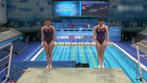 中国跳水有多强?一跳吓得对面乖乖去强银牌!