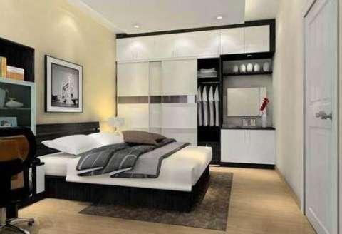 卧室整体衣柜内部格局和推拉门尺寸标准