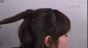 韩式发型盘发 长发盘发发型 盘发发型扎法步骤