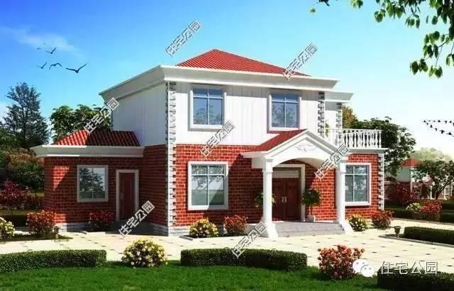 带柴火房的二层农村别墅,传统结合现代的设计更值得传承