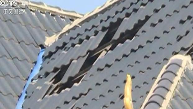 云南景洪4.9级地震 部分房屋受损