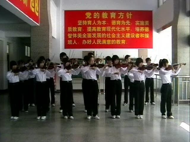 花式小提琴 张少博 龙的传人 土豆视频