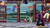 拳皇2002: 龙二打出疯狂的四十八连,克里斯被一套连招带走
