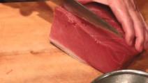 如此肥美的金枪鱼,日本人就这么吃三文鱼好奢侈