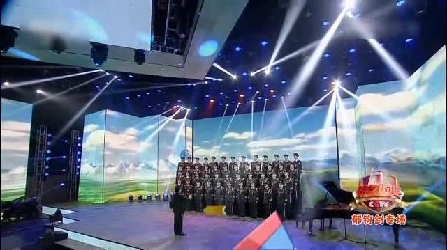周年红色交响 天路 总政歌舞团合唱团