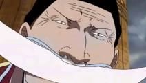 海贼王: 香克斯与白胡子碰面,天空都裂开的强者之战!