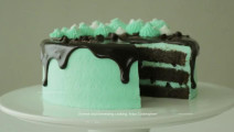 【Amy时尚世界】薄荷巧克力蛋糕