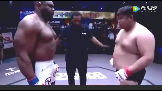 中国拳王敖日格勒39秒Ko黑金刚萨普!