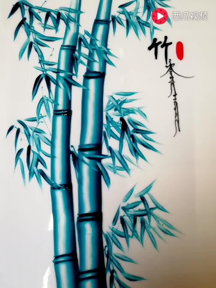 竹子的画法_竹子画法步骤图