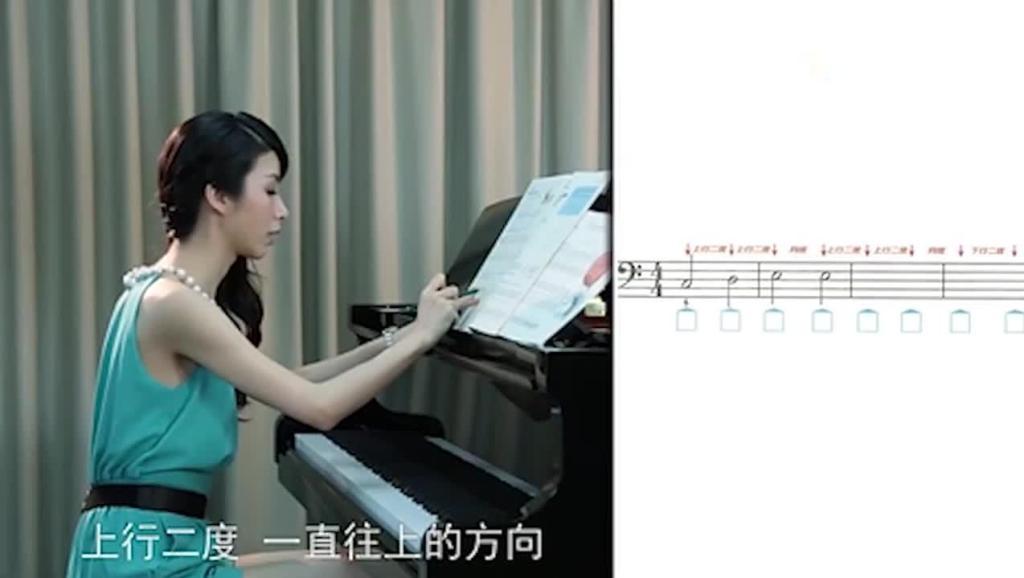 成年人钢琴教程 拜厄钢琴基础教程钢琴谱