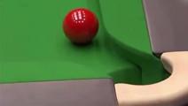这是斯诺克最为神奇的一球,解说都称百年难遇