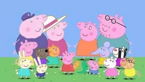 喜欢跳泥坑的小猪佩奇, 到底是让孩子看呢, 还是看呢?