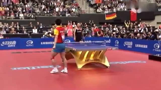 让张继科告诉你乒乓球有多燃[11年鹿特丹比赛混剪]