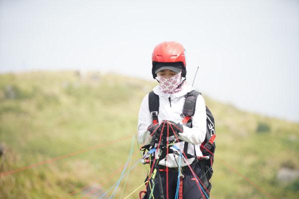 广西钦州举办2018年全国滑翔伞定点联赛