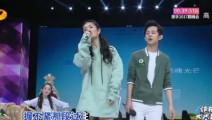 谢娜与何炅合唱《三生三世》,超强唱功博得全场掌声,娜娜唱得棒