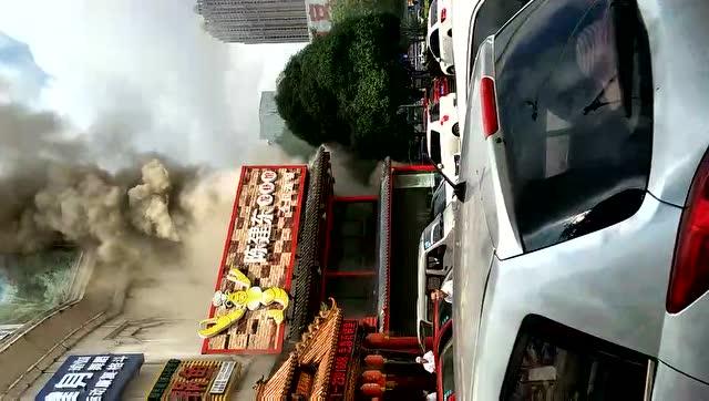 陈建东龙虾馆起火
