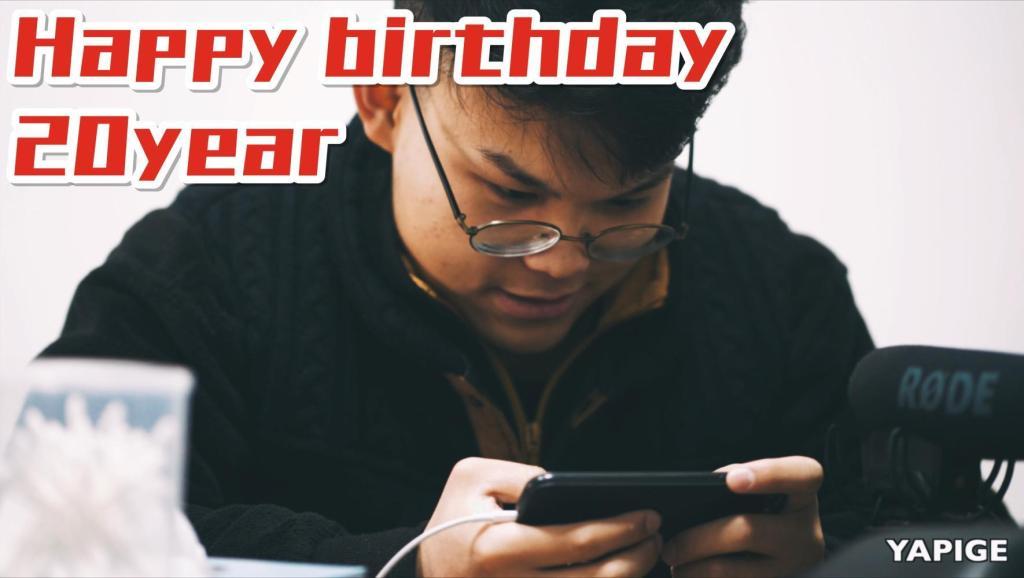 Happy Birthday 20 Year VLOG²