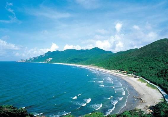在珠海就有一个不错之选 荷包岛位于珠海市西南端 岛上有大南湾,小南