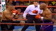 """经典拳击战局,""""迈克泰森vs伊万德·霍利菲尔德""""泰森时代真牛逼"""