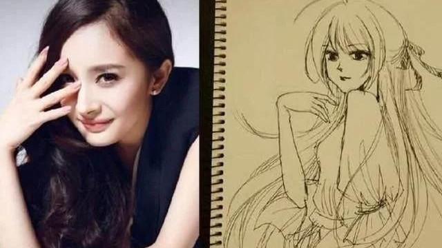赵丽颖画出自己, 张馨予不容小觑, 热巴是来搞笑的 明星画画水平: