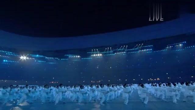 北京08年奥运会 中国太极展现在全世界面前,日本人以前理解错了