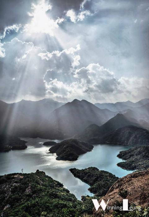 眉县财神谷风景图片