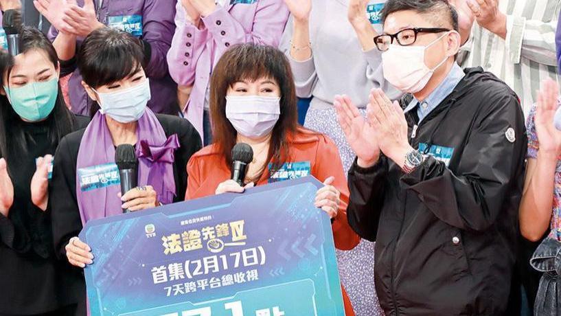 口碑失利收视却高升,有传TVB急改结局,疑将续拍《法证先锋5》?