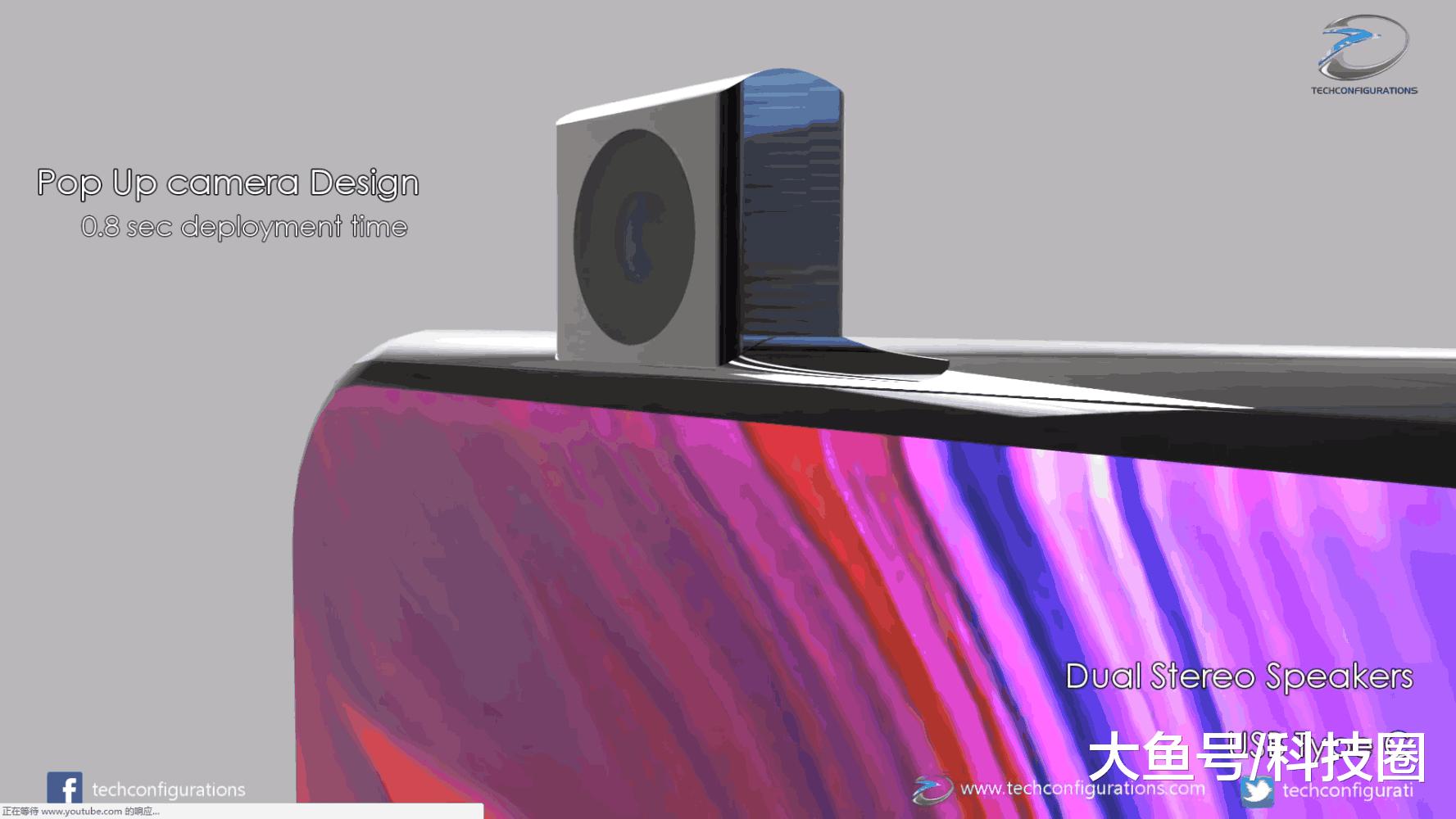 给出了一组小米MIX,Flex折叠屏手机的概念渲染图,三摄布局让人惊讶(图5)