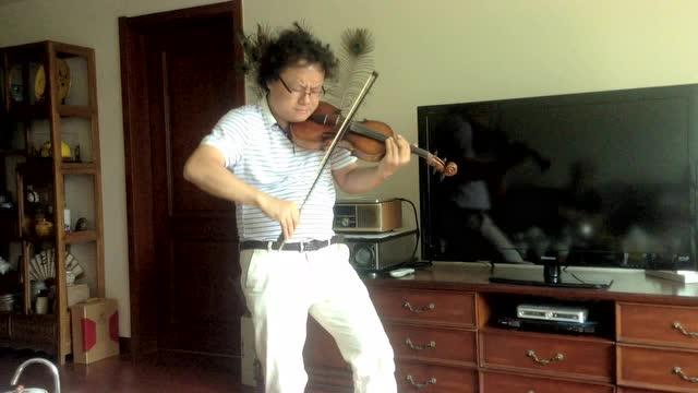 白亮拜访世界名人养生医疗音乐创始人吴慎教授,现场演奏小提琴