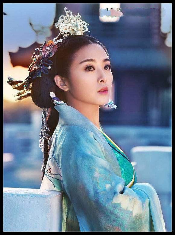 angelababy,鞠婧祎古装剧照 美出新境界, 美的不可挑剔!